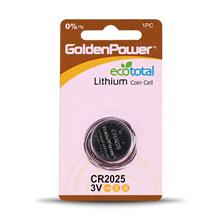 Golden Power CR2025 Coin Cell Battery  Pack of 1